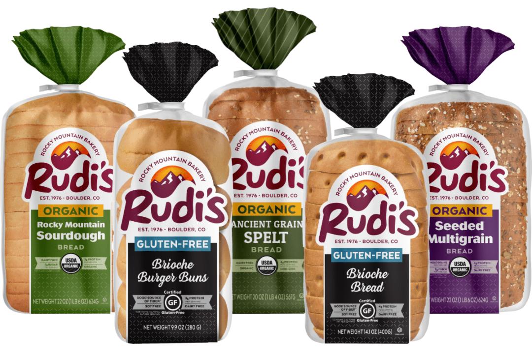 Rudi's Bakery investing in gluten-free, organic innovation